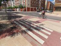 El carril bici de Aranda se ampliará hasta la circunvalación
