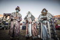 Visita de los Reyes Magos a Almazán