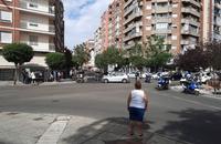 Un accidente en la calle Gondomar deja dos heridos