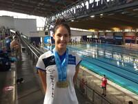 La joven Laura Cabanes conquista dos medallas de oro