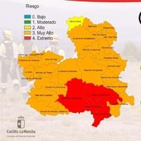 El riesgo de incendios es extremo en Albacete