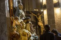 Pasos de Semana Santa en las iglesias de Guadalajara.