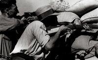 'Cuquillo', el miliciano moracho de Capa y Taro