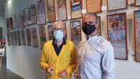 Exposición de carteles taurinos en las Navas del Marqués