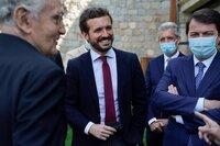 Casado sobre el viaje de Sánchez a EEUU: Abochorna a España