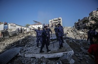 Ambulancias egipcias entran a Gaza para ayudar a los heridos