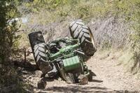 Fallece un hombre por el vuelco de su tractor