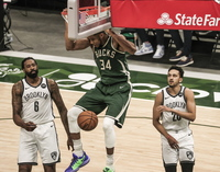 Los Bucks, la primera sorpresa de los 'playoffs'