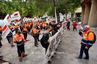 STAS sigue adelante con la huelga en la limpieza viaria y basuras