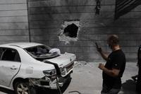 Hamás lanza decenas de cohetes contra Tel Aviv
