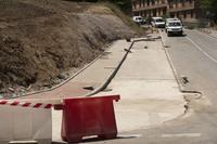 Estado de las obras en San Gabriel.