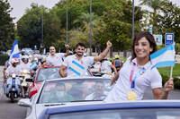 Homenaje a los deportistas olímpicos de Talavera