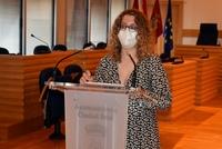 Sara Martínez se despide como portavoz en el Ayuntamiento