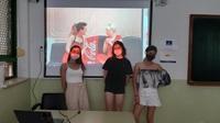 Noa Martínez, segunda en un concurso de Coca-Cola