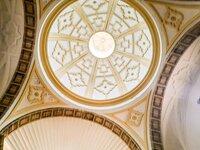 La cúpula de la iglesia de Briñas luce tras su restauración