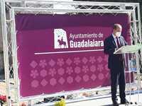 Álvar Fáñez de Minaya a caballo, nueva imagen de Guadalajara