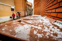 Granizo en Valladolid