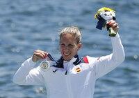Teresa Portela se cuelga una histórica plata en piragüismo