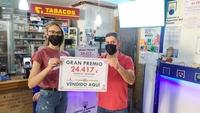 Premio de El Gordo de La Primitiva de 24.417 euros