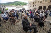 Asistentes al acto del Día de La Rioja