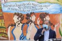 Un mural por la salud en memoria de la fundadora de AMAC