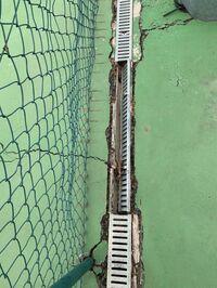 El CT Paramera denuncia el mal estado de las pistas de tenis