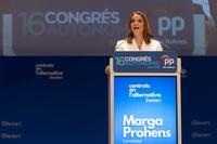 Marga Prohens, elegida nueva presidenta del PP en Baleares