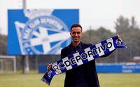 Borja Jiménez, presentado con el Deportivo