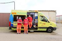 Unidad con soporte vital avanzado de enfermería, conocida como ambulancia tipo C o SVAE