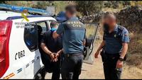 La víctima de Nombela contrató una mudanza con los detenidos