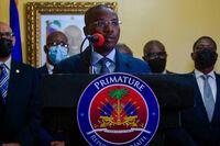 El primer ministro interino de Haití anuncia su dimisión