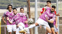 El Palencia FC disputa la ida por el ascenso