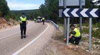 Fallece un motorista tras salirse de la carretera en Soria