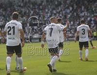El Plantío goza con la victoria del Burgos CF en el derbi