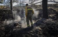 Controlado el incendio de Yerga, tras calcinar 360 hectáreas