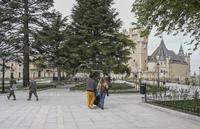La nueva imagen de la plaza Reina Victoria Eugenia