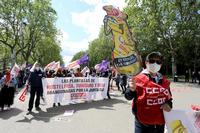 Concentración del Primero de Mayo, Día Internacional del Trabajo