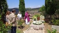 Celebran una misa en el 37 aniversario de la muerte de Zóbel
