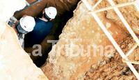 Las bóvedas del anfiteatro romano esperan comprador
