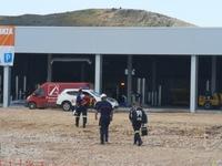 Dos heridos, uno grave, en un accidente laboral en El Burgo