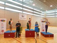 Nerea Díaz, campeona de España de gimnasia rítmica adaptada