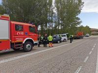 Dos vallisoletanos fallecen en un accidente en Almazán (Soria)