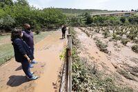 El Gobierno ayudará a paliar las pérdidas en Fuenmayor
