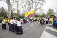 La comunidad colombiana en Ávila vuelve a salir a la calle