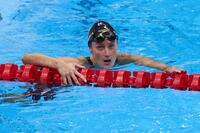 Belmonte roza el bronce en los 400 estilos