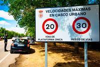 Pisar el freno en vías urbanas