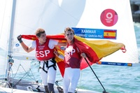Xammar y Rodríguez, bronce en vela en el 470