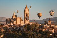 Fotografías ganadoras de 'Segovia, Ciudad de los Globos'