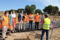 Concluyen las obras en la carretera AB-216