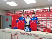 Diego Suárez y Álex Cortijo se unen al proyecto numantino